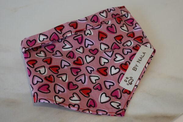 Handmade by Nala hearts of love